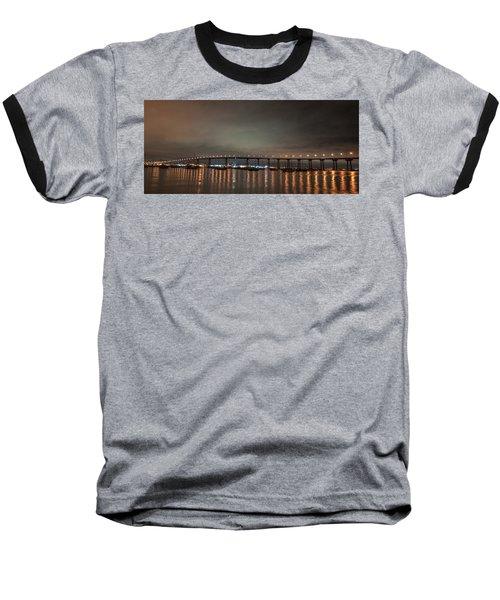 Coronado Bridge San Diego Baseball T-Shirt