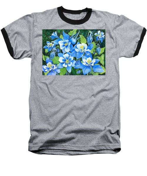 Colorado Columbines Baseball T-Shirt by Barbara Jewell