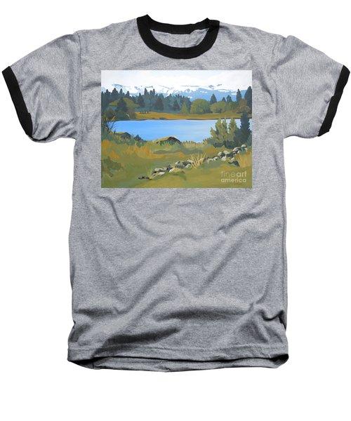 Colorado Mountains Baseball T-Shirt