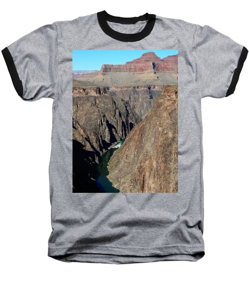 Colorado River From Plateau Point Baseball T-Shirt