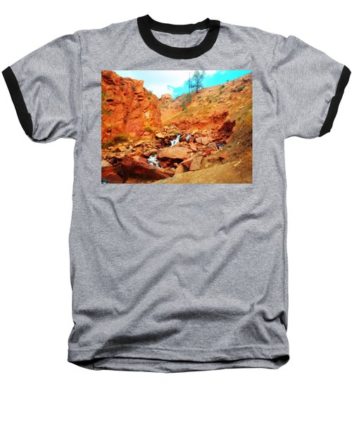 Colored Falls Baseball T-Shirt