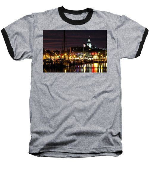 Colorful Annapolis Evening Baseball T-Shirt