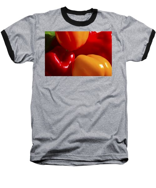 Baseball T-Shirt featuring the photograph Colorful Bells by Gary Holmes