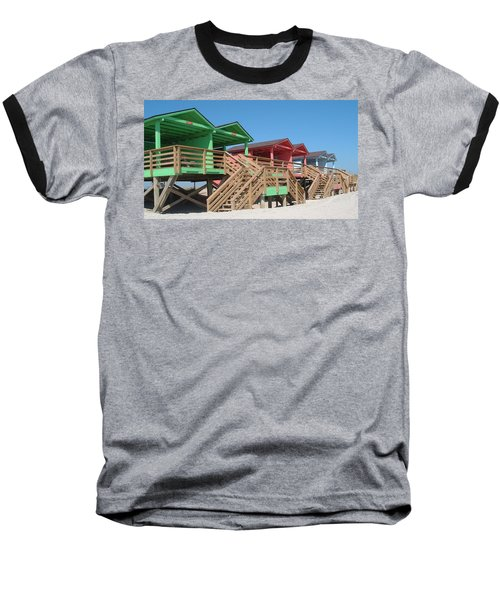 Colorful Cabanas Baseball T-Shirt