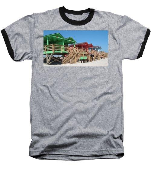 Colorful Cabanas Baseball T-Shirt