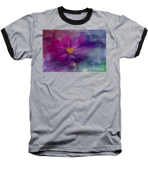 Colorful Cosmos Baseball T-Shirt