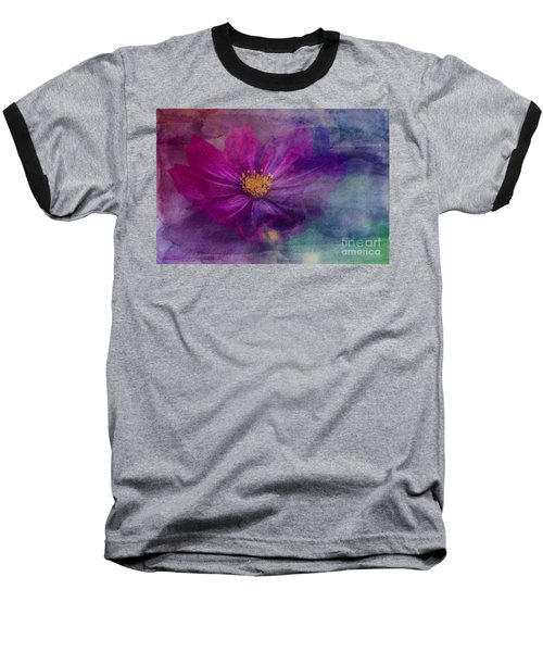 Colorful Cosmos Baseball T-Shirt