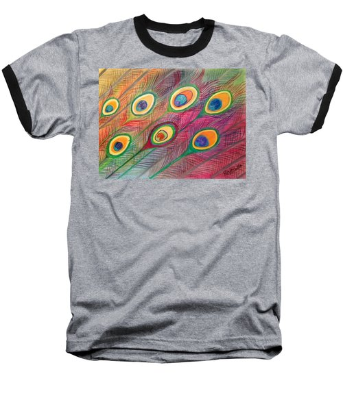Colorful Delusions Baseball T-Shirt