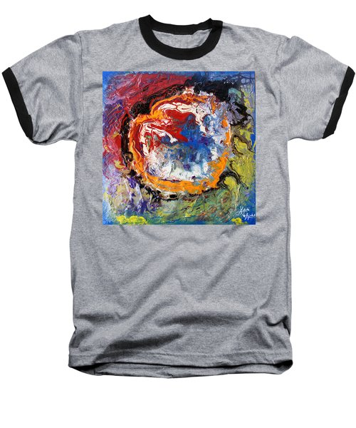 Colorful Happy Baseball T-Shirt