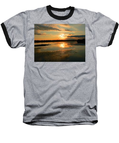 Baseball T-Shirt featuring the photograph Colorful Light by Rosalie Scanlon