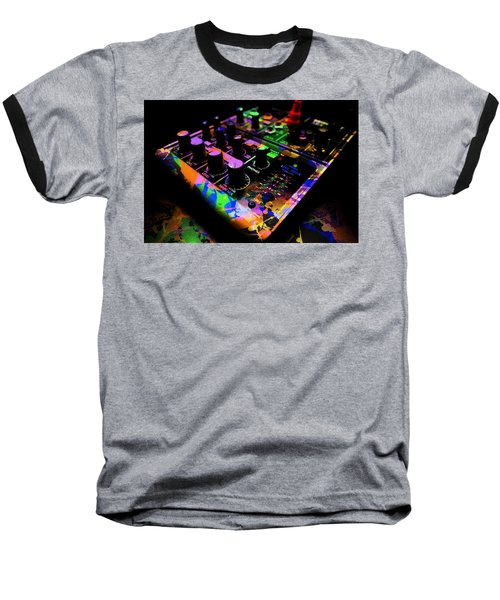 Baseball T-Shirt featuring the photograph Mixing Colors by Aaron Berg