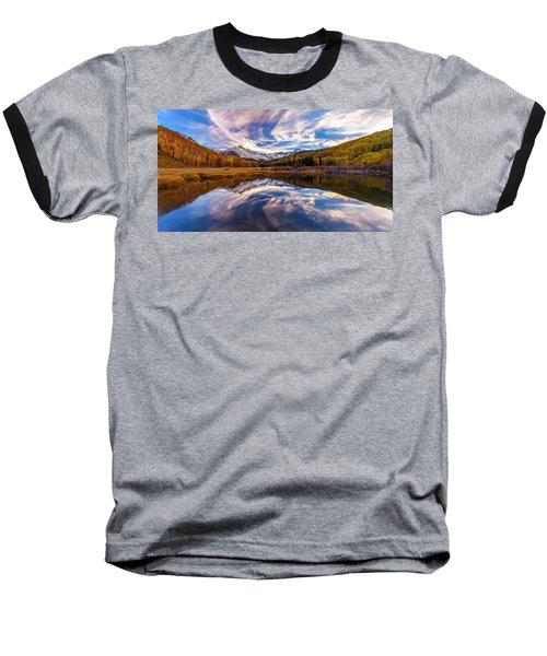 Colorful Reflection Baseball T-Shirt
