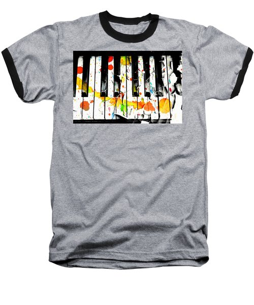 Aaron Lee Berg Baseball T-Shirt featuring the photograph Colorful Sound by Aaron Berg