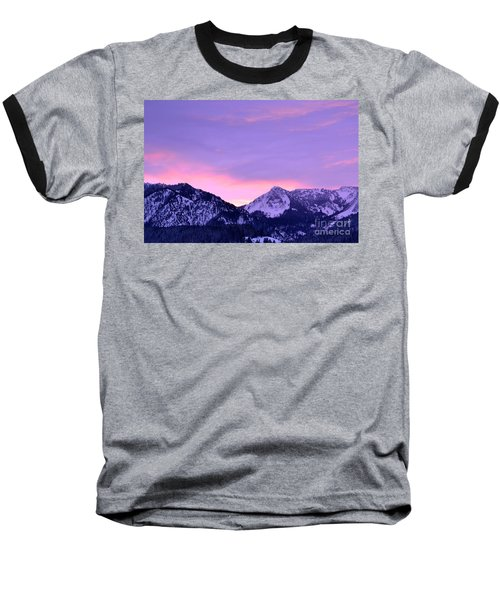 Colorful Sunrise No. 1 Baseball T-Shirt