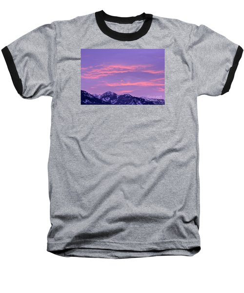 Colorful Sunrise No. 2 Baseball T-Shirt