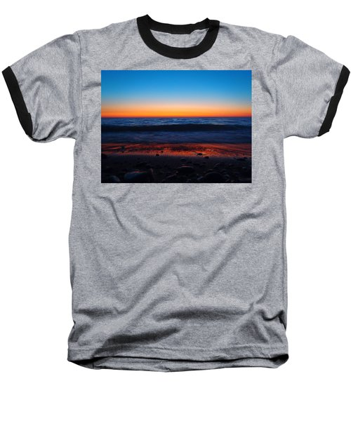 Colorful Twilight Baseball T-Shirt