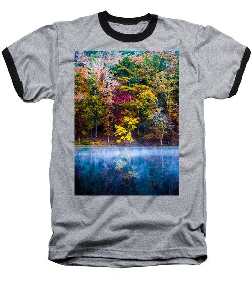 Colors In Early Morning Fog Baseball T-Shirt
