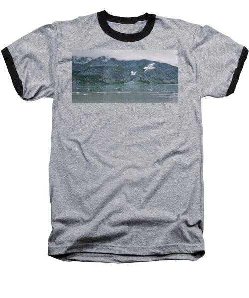 Colors Of Alaska - Glacier Bay Baseball T-Shirt