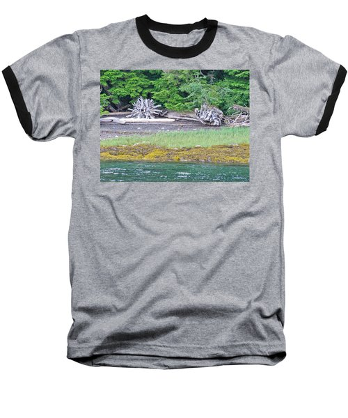 Colors Of Alaska - Layers Of Greens Baseball T-Shirt