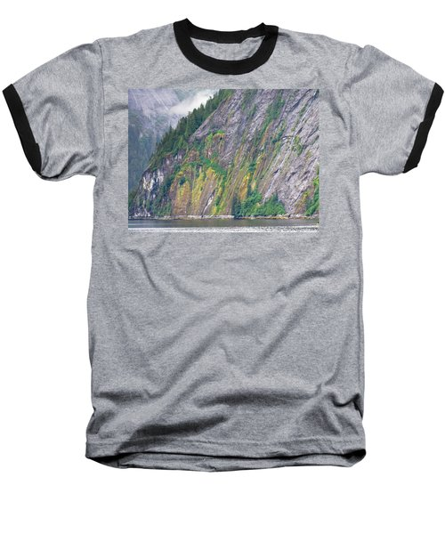 Colors Of Alaska - Misty Fjords Baseball T-Shirt