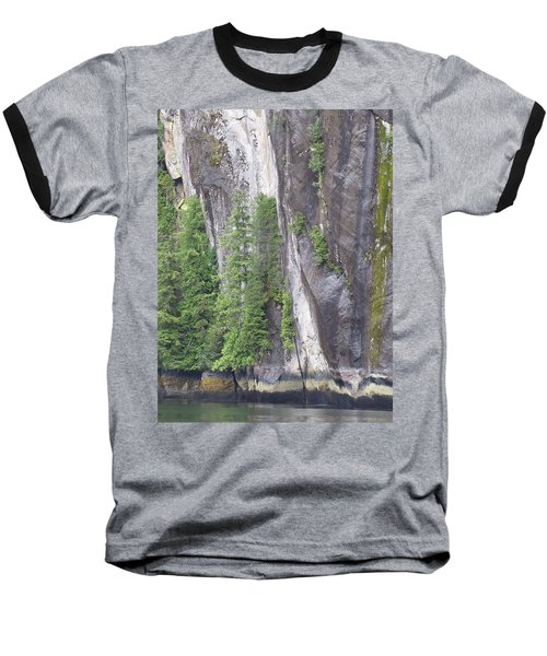 Colors Of Alaska - More From Misty Fjords Baseball T-Shirt