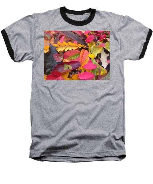 Colors Of Autumn Baseball T-Shirt