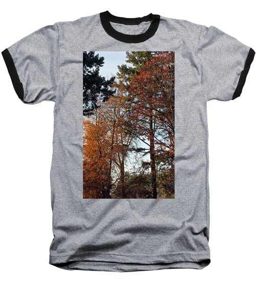 Baseball T-Shirt featuring the photograph Colors Of Autumn by Tikvah's Hope
