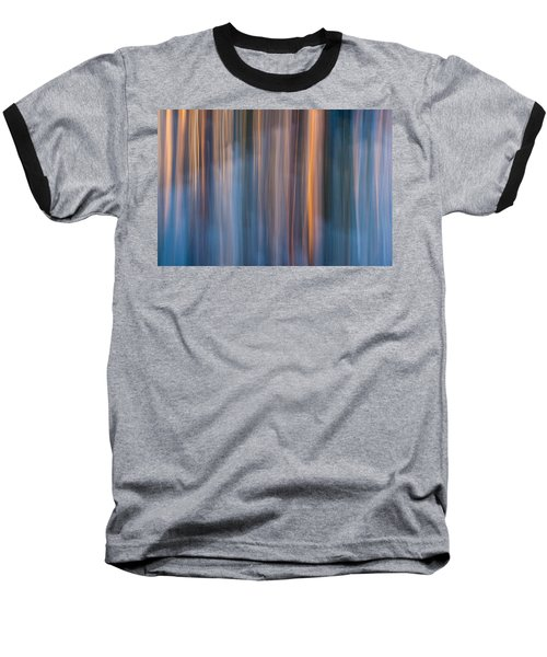 Colors Of Dusk Baseball T-Shirt by Davorin Mance