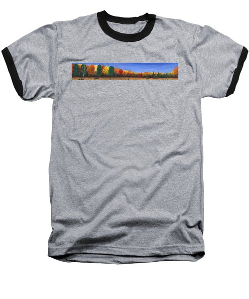 Colors Of Fall Baseball T-Shirt