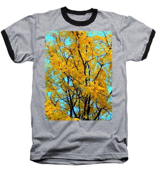 Colors Of Fall - Smatter Baseball T-Shirt