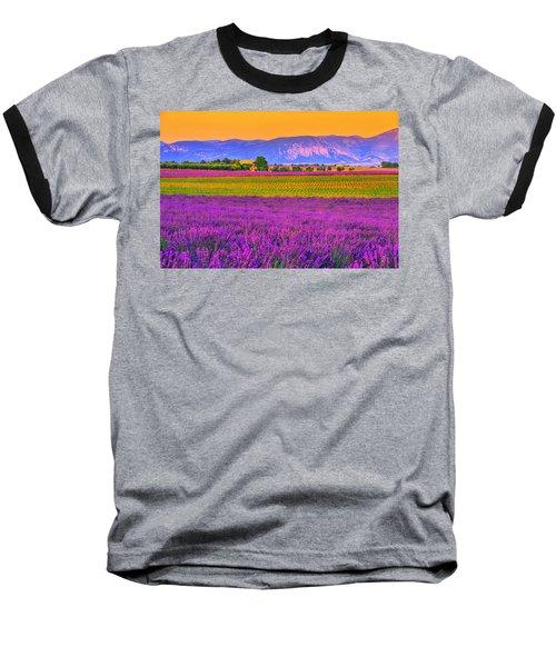 Colors Of Provence Baseball T-Shirt by Midori Chan