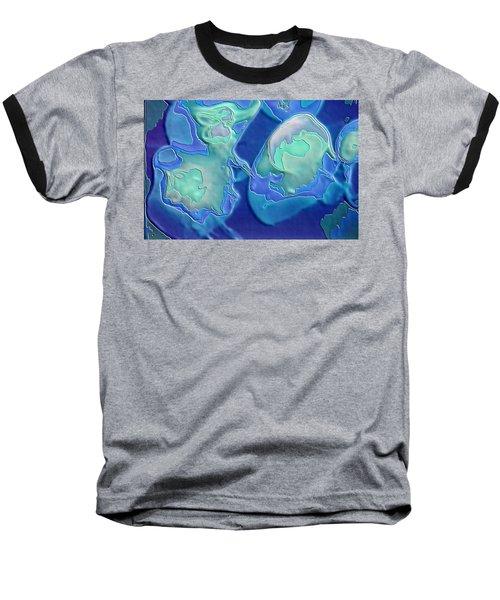 Colors Of The Sea 1 Baseball T-Shirt