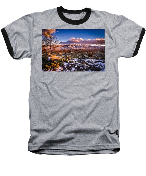 Baseball T-Shirt featuring the photograph Colors Of Winter by Mark Myhaver