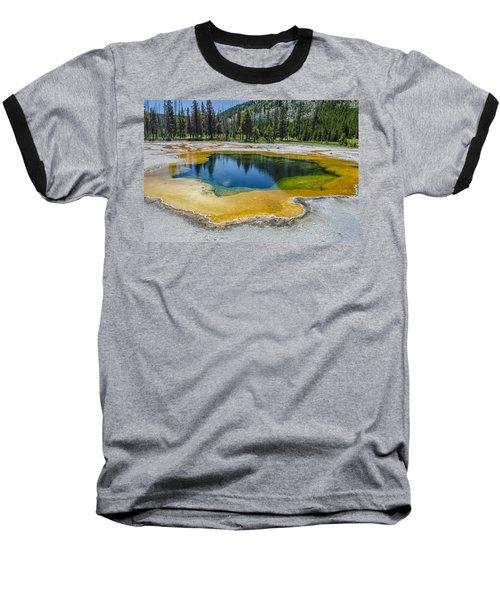 Colors Of Yellowstone Baseball T-Shirt