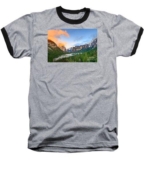 Colors Of Yosemite Baseball T-Shirt by Jamie Pham