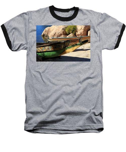 Colorul Canoe Baseball T-Shirt