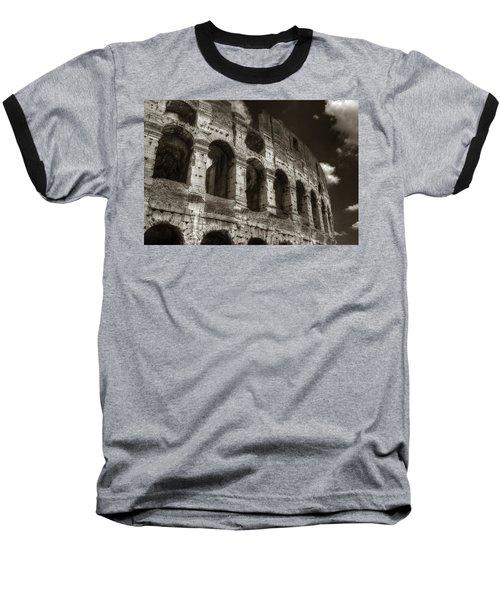 Colosseum Wall Baseball T-Shirt