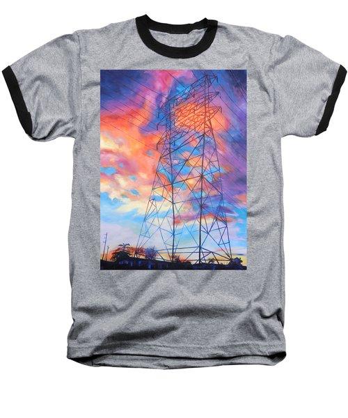 Colossus Baseball T-Shirt by Bonnie Lambert
