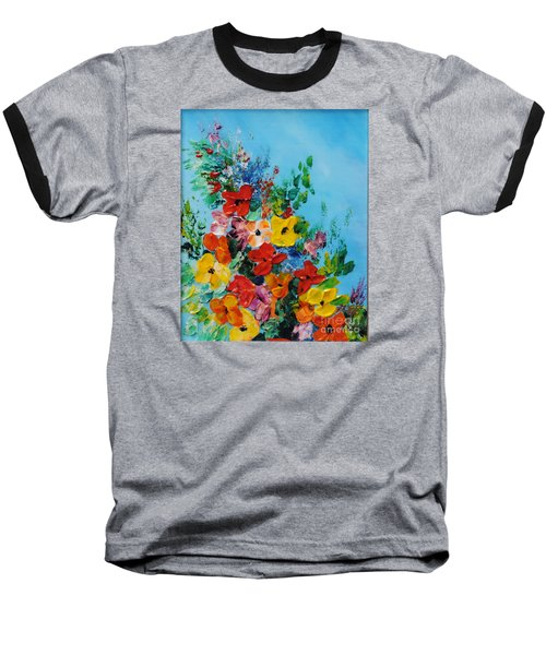 Colour Of Spring Baseball T-Shirt by Teresa Wegrzyn