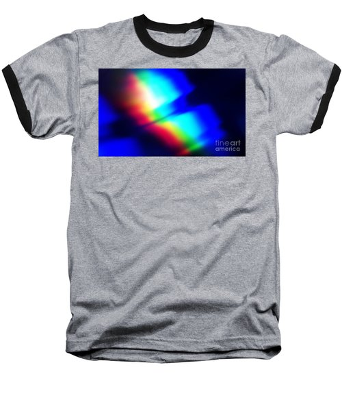 Baseball T-Shirt featuring the photograph Coloured Light by Martin Howard