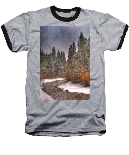 Colours Of Winter Baseball T-Shirt by Juli Scalzi
