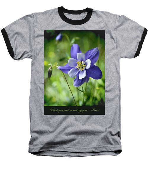 Columbine Card  Baseball T-Shirt