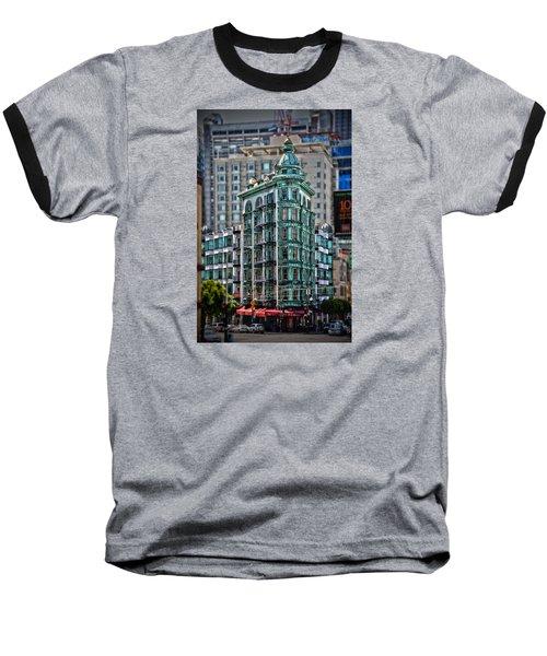 Columbus Tower In San Francisco Baseball T-Shirt