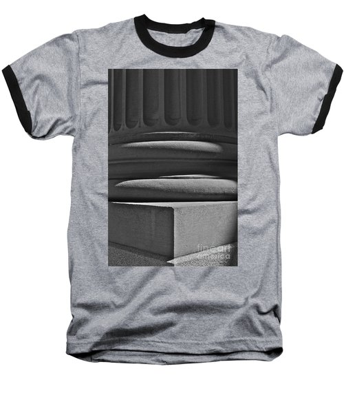 Baseball T-Shirt featuring the photograph Column 1 by Linda Bianic