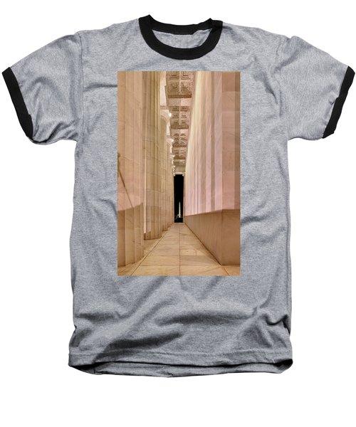 Columns And Monuments Baseball T-Shirt