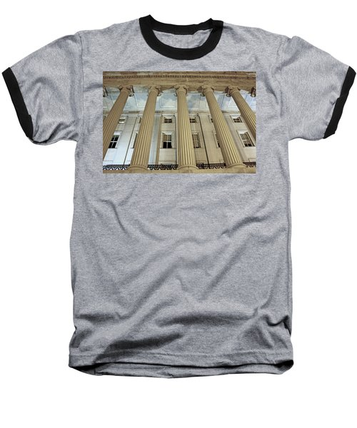Baseball T-Shirt featuring the photograph Columns Of History by Suzanne Stout