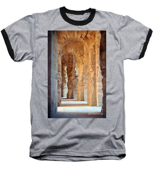 Baseball T-Shirt featuring the photograph Columns by Randi Grace Nilsberg