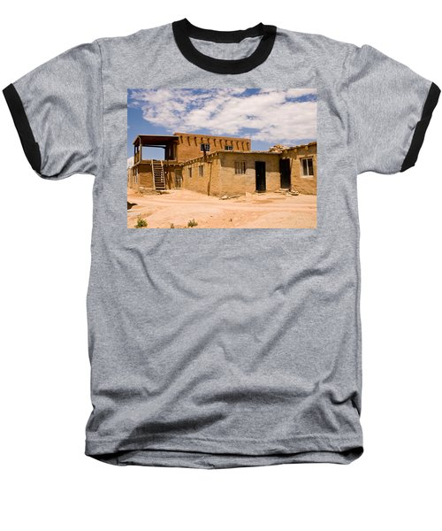 Acoma Pueblo Home Baseball T-Shirt