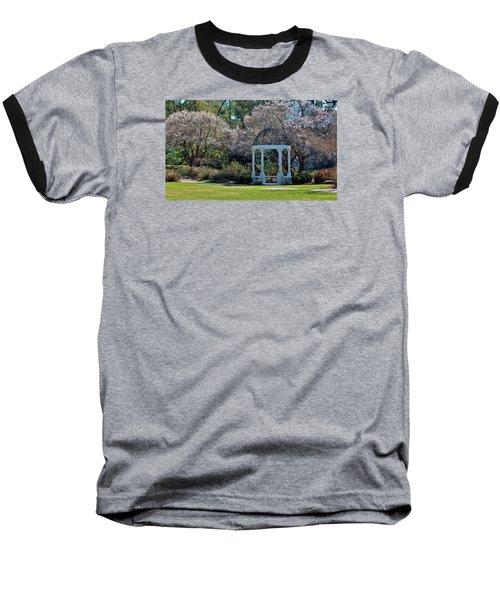 Come Into The Garden Baseball T-Shirt by Cynthia Guinn
