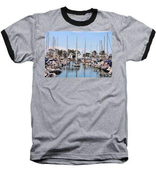 Come Sail Away Baseball T-Shirt by Tammy Espino